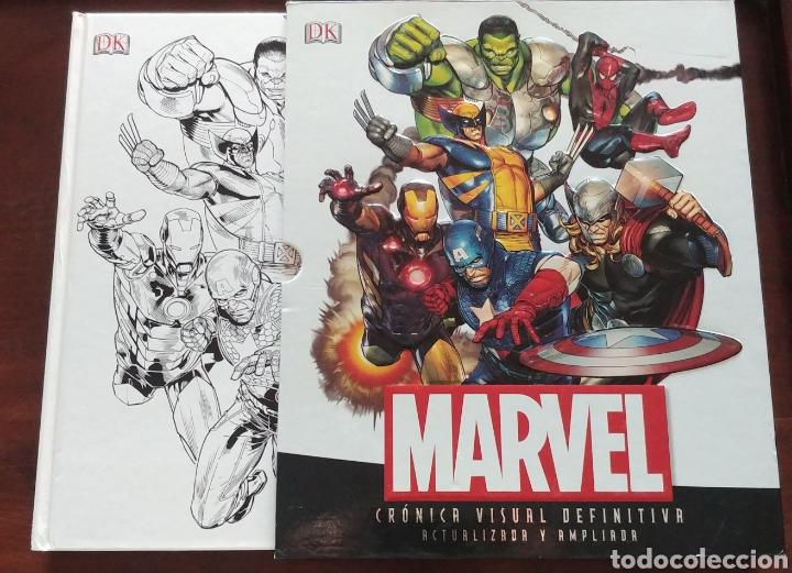 CRÓNICA VISUAL DEFINITIVA MARVEL EDICIONES DK (Tebeos y Comics - Comics Extras)