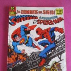 Cómics: SUPERMAN VS. EL ASOMBROSO SPIDER-MAN - EL COMBATE DEL SIGLO GRAN FORMATO. Lote 276643458