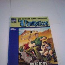Cómics: REED RICHARDS - LAS HISTORIAS JAMAS CONTADAS DE LOS 4 FANTASTICOS - FORUM - BE - CJ 100. Lote 145671482