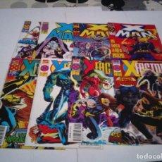 Cómics: LOTE X - MAN Y X - FACTOR - LOS 4 PRIMEROS NUMEROS DE CADA COLECCION- BUEN ESTADO - CJ 100. Lote 145672874