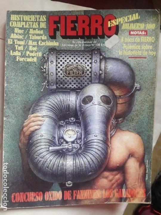 REVISTA FIERRO NUMERO 100- DIFICIL!! (Tebeos y Comics - Comics Extras)