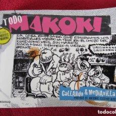 Cómics: TODO MAKOKI CON DIBUJO Y FIRMA ORIGINAL DEL AUTOR. Lote 153805954