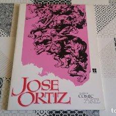 Comics: CUANDO EL COMIC ES ARTE JOSE ORTIZ. Lote 163356210