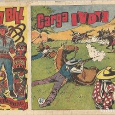 Cómics: TOM BILL - CARGA INDIA - 47 - ORIGINAL. Lote 173991449