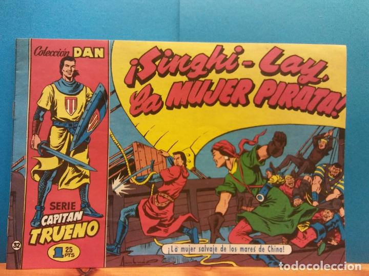 ¡SINGHI-LAY, LA MUJER PIRATA!. SERIE CAPITÁN TRUENO COLECCIÓN DAN Nº. 127 (Tebeos y Comics - Comics Extras)