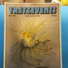 Cómics: TRETZEVENTS Nº.392. SEGONA QUINZENA DE FEBRER. PUBLICACIÓ DEL SEMINARI DE SOLSONA. SIRVEANSAE. Lote 175649165