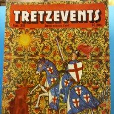 Cómics: TRETZEVENTS Nº.396. SEGONA QUINZENA D'ABRIL. PUBLICACIÓ DEL SEMINARI DE SOLSONA. SIRVEANSAE. Lote 175649470