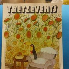 Cómics: TRETZEVENTS Nº.397. PRIMERA QUINZENA DE MAIG. PUBLICACIÓ DEL SEMINARI DE SOLSONA. SIRVEANSAE. Lote 175649554