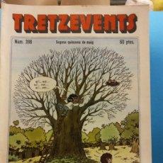 Cómics: TRETZEVENTS Nº.398. SEGONA QUINZENA DE MAIG. PUBLICACIÓ DEL SEMINARI DE SOLSONA. SIRVEANSAE. Lote 175649644