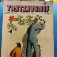 Cómics: TRETZEVENTS Nº.399. PRIMERA QUINZENA DE JUNY. PUBLICACIÓ DEL SEMINARI DE SOLSONA. SIRVEANSAE. Lote 175649753