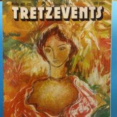 Cómics: TRETZEVENTS Nº.402-403. EXTRAORDINARI D'ESTIU. PUBLICACIÓ DEL SEMINARI DE SOLSONA. SIRVEANSAE. Lote 175650089