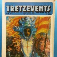 Cómics: TRETZEVENTS Nº.419. SEGONA QUINZENA D'ABRIL. PUBLICACIÓ DEL SEMINARI DE SOLSONA. SIRVEANSAE. Lote 175651790