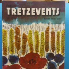 Comics : TRETZEVENTS Nº.332-333. NÚMERO DOBLE D'ESTIU. L'INFANTIL. SIRVEANSAE. Lote 175677289
