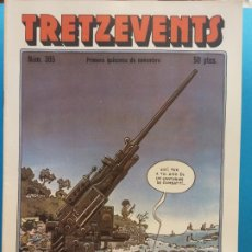 Cómics: TRETZEVENTS Nº.385. PRIMERA QUINZENA DE NOVEMBRE. SIRVEANSAE. Lote 175678982