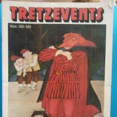 Cómics: TRETZEVENTS Nº.505-506. SIRVEANSAE. Lote 175682083