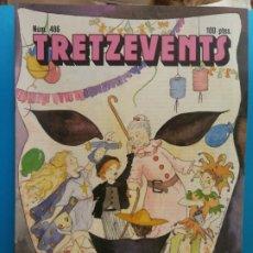 Comics: TRETZEVENTS Nº.486. SIRVEANSAE. Lote 175683190