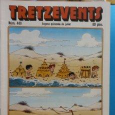 Cómics: TRETZEVENTS Nº.449. SEGONA QUINZENA DE JULIOL. SIRVEANSAE. Lote 175686875