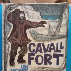Fumetti: CAVALL FORT Nº. 317. REVISTA PER A NOIS I NOIES. EDITORA SANTA MARIA. Lote 175761750