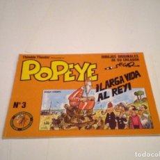 Cómics: POPEYE - NUMERO 3 - EDICIONES EUSEVE - DAIY STRIPS - BUEN ESTADO - CJ 110 - GORBAUD. Lote 176132373