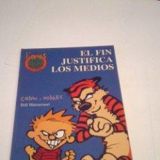 Comics: CALVIN Y HOBBES -FANS NUMERO 17 - EL FIN JUSTIFICA LOS MEDIOS - MBE - CJ 110 - GORBAUD. Lote 176132454