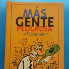 Fumetti: MAS GENTE PELIGROSA. MANUEL VÁZQUEZ. EDICIONES GLÉNAT. Lote 176816519