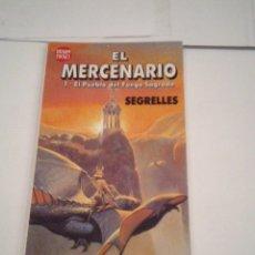 Cómics: EL MERCENARIO - EL PUEBLO DEL FUEGO SAGRADO - DRAGON POCKET - MUY BUEN ESTADO- GORBAUD - CJ 111. Lote 177600978