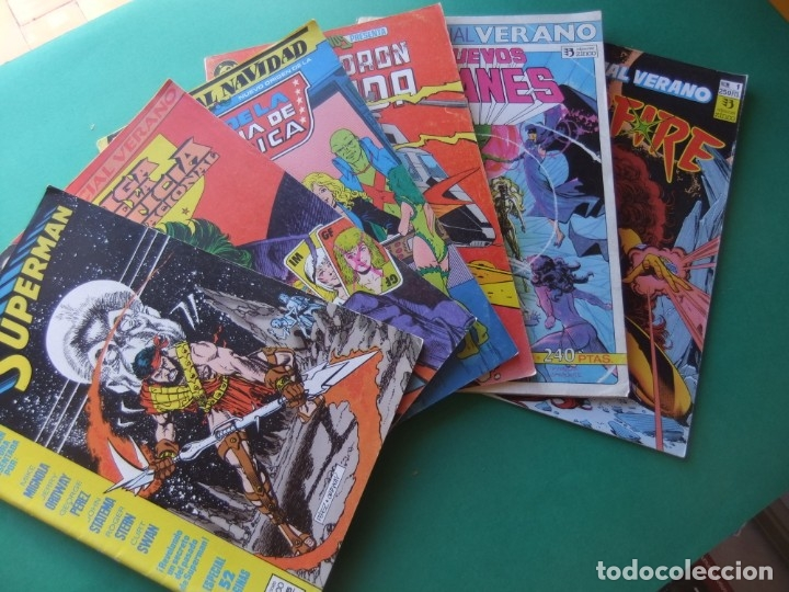 LOTE DE SEIS EXTRAS ALMANAQUES DE ZINCO (Tebeos y Comics - Comics Extras)