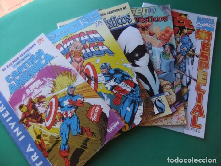 LOTE DE 5 EXTRAS DE FORUM (Tebeos y Comics - Comics Extras)
