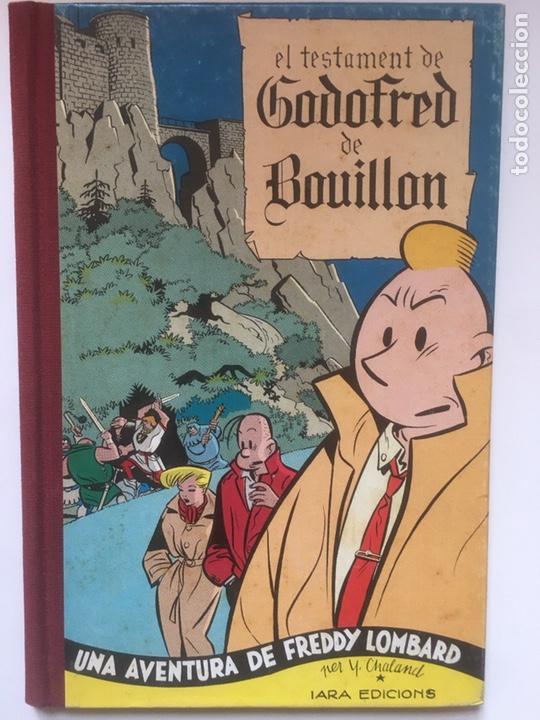 EL TESTAMENT DE GODOFRED DE BOUILLON DE Y. CHALAND (Tebeos y Comics - Comics Extras)