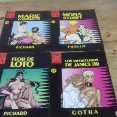 Cómics: 4 COMICS DE COLECCION COLOR.. PERFECTO ESTADO. Lote 184854273