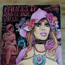 Cómics: 5 COMICS DE PAULETTE DE WOLINSKI Y PICHARD. Lote 184856618