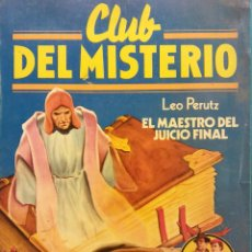 Cómics: CLUB DEL MISTERIO Nº 83. LEO PERUTZ. EL MAESTRO DEL JUICIO FINAL. EDITORIAL BRUGUERA. Lote 185769497