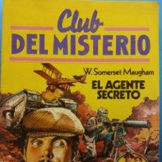 Cómics: CLUB DEL MISTERIO Nº 72. W. SOMERSET MAUGHAM, EL AGENTE SECRETO. EDITORIAL BRUGUERA. Lote 185769563