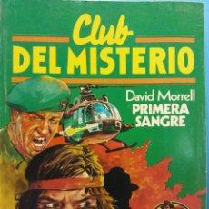 Cómics: CLUB DEL MISTERIO Nº 45. DAVID MORRELL, PRIMERA SANGRE. EDITORIAL BRUGUERA. Lote 185769620
