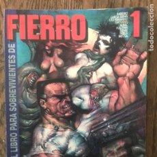 Cómics: EL LIBRO DE FIERRO N°1 CIUDAD II Y OTRAS HISTORIAS 1993. Lote 187222100