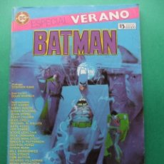 Cómics: ESPECIAL VERANO BATMAN PARA 1986 EDICIONES ZINCO. Lote 187584296