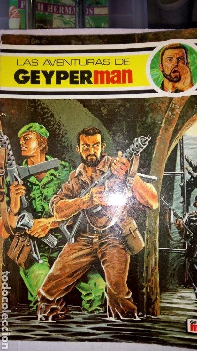 LAS AVENTURAS DE GEYPERMAN. NÚM 2. EDICIONES RECREATIVAS. AÑO 1978. (Tebeos y Comics - Comics Extras)