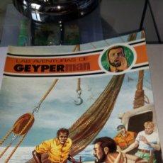 Cómics: LAS AVENTURAS DE GEYPERMAN. NÚM. 3. EDICIONES RECREATIVAS. AÑO 1978.. Lote 190320408