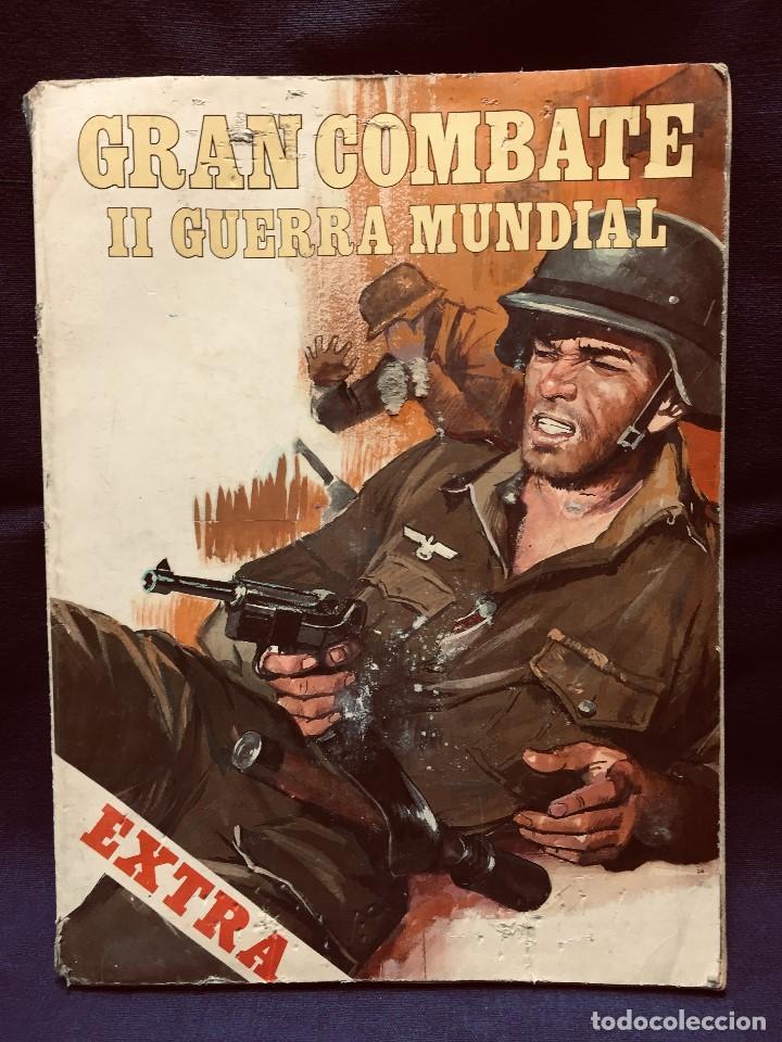 CÓMIC GRAN COMBATE II GUERRA MUNDIAL EXTRA Nº 6 EDICIONES GAVIOTA ÚLTIMO COMBATE REVIENTA TANQUES (Tebeos y Comics - Comics Extras)