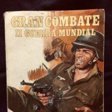 Cómics: CÓMIC GRAN COMBATE II GUERRA MUNDIAL EXTRA Nº 6 EDICIONES GAVIOTA ÚLTIMO COMBATE REVIENTA TANQUES . Lote 190341158