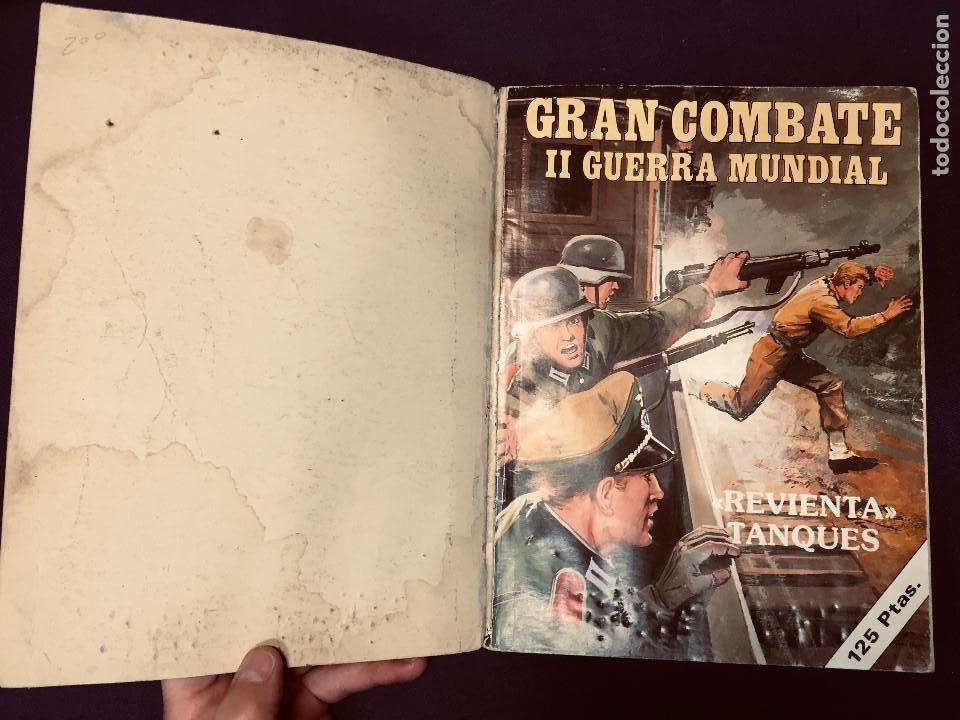 Cómics: cómic gran combate II guerra mundial extra nº 6 ediciones gaviota último combate revienta tanques - Foto 4 - 190341158