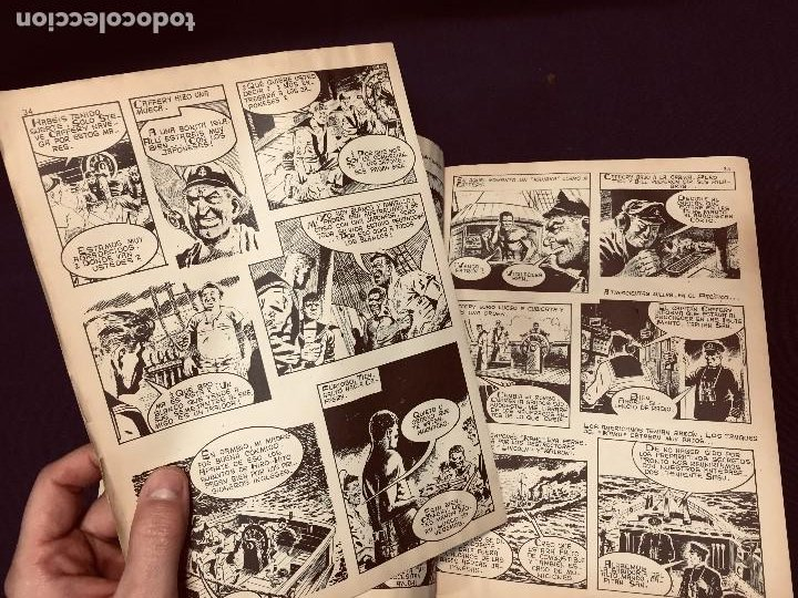 Cómics: cómic gran combate II guerra mundial extra nº 6 ediciones gaviota último combate revienta tanques - Foto 12 - 190341158