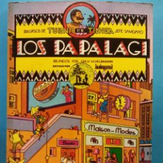 Cómics: LOS PAPALAGI. REUNIDOS POR ERICH SCHEURMANN. DISCURSOS DE TUIAVII DE TIAVEA JEFE SAMOANO. INTEGRAL. Lote 191474780