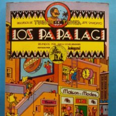 Cómics: LOS PAPALAGI. REUNIDOS POR ERICH SCHEURMANN. DISCURSOS DE TUIAVII DE TIAVEA JEFE SAMOANO. INTEGRAL. Lote 191474997