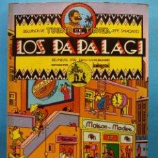 Cómics: LOS PAPALAGI. REUNIDOS POR ERICH SCHEURMANN. DISCURSOS DE TUIAVII DE TIAVEA JEFE SAMOANO. INTEGRAL. Lote 191475146