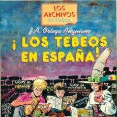 Cómics: LOS ARCHIVOS DEL BOLETIN LOS TEBEOS EN ESPAÑA. Lote 194317515
