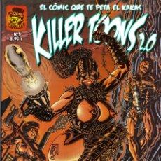 Cómics: KILLER TOONS 2.0 EXTRA HUMOR NEGRO Nº 3 CÓRDOBA 2011. Lote 196876137
