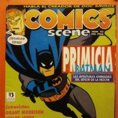 Comics : COMICS SCENE NÚM 10. EDICIONES ZINCO. Lote 200255452