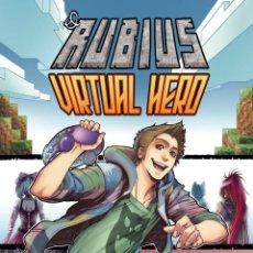 "Cómics: LIBRO COMIC-""ELRUBIUS VIRTUAL HERO"". Lote 201704677"