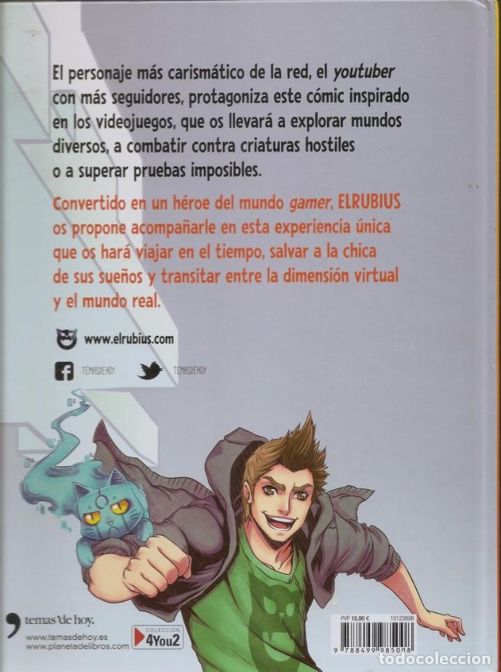 Cómics: 2 LIBROS COMIC-ELRUBIUS VIRTUAL HERO I y LA TORRE IMPOSIBLE VIRTUAL HERO II - Foto 3 - 201704677